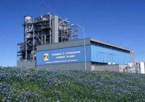 Ferguson power plant. about lake lbj
